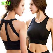 Wholesale High Quality Sexy Back Ladies Sports Bra Fitness Sublimation Yoga Bra