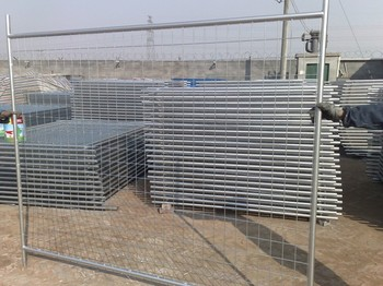 durable temporary fencing welded wire mesh fencing