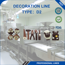 Decoration Equipment 3 Colors Decorated Chocolate Making Machine
