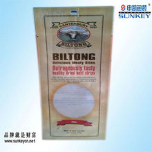 New Zealand biltong plastic packaging bags with elastics delicious prime beef plastic packaging