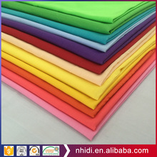Most selling product 45S plain dyed or bleached poplin pocket lining tc fabric