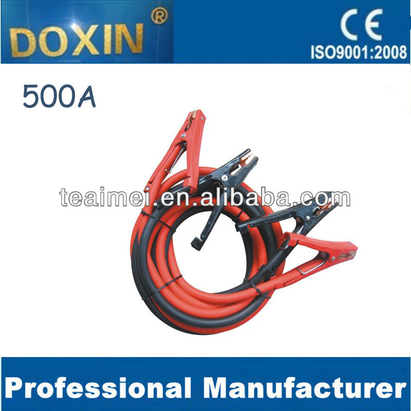 electric cable, Power Booster battery Cable,dooster cable 500A 2M,2.5M