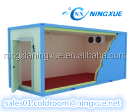 Long distance transport used freezer container