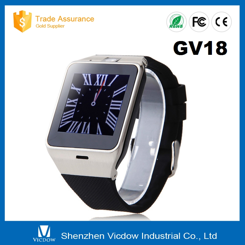 GV18 andriod watch bluetooth water proof smart watch