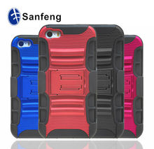 Swivel belt clip holster cell phone cover shell for apple iphon 5 5 s