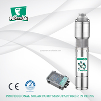 5TSS 3 phase DC brushless motor solar submersible water pump pompa