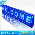 led semi outdoor scrolling advertising screen