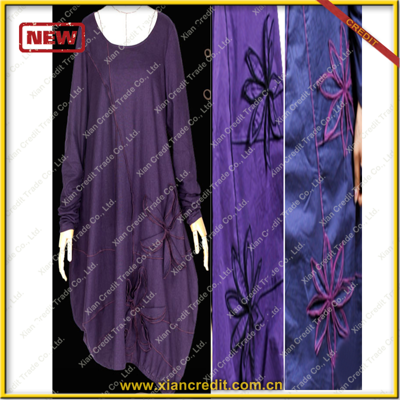 New arrival islamic girls turkish coat abaya