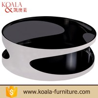 High Quality Home Furniture Bent Glass Coffee Table