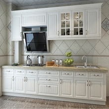 PVC kitchens cabinets colorful designs