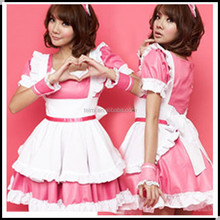 Japanese Coffee Shop Waitress Cosplay Lolita French Maid Costume Dress
