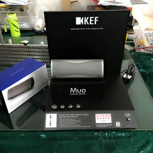 China factory custom bluetooth speaker and headphone acrylic display