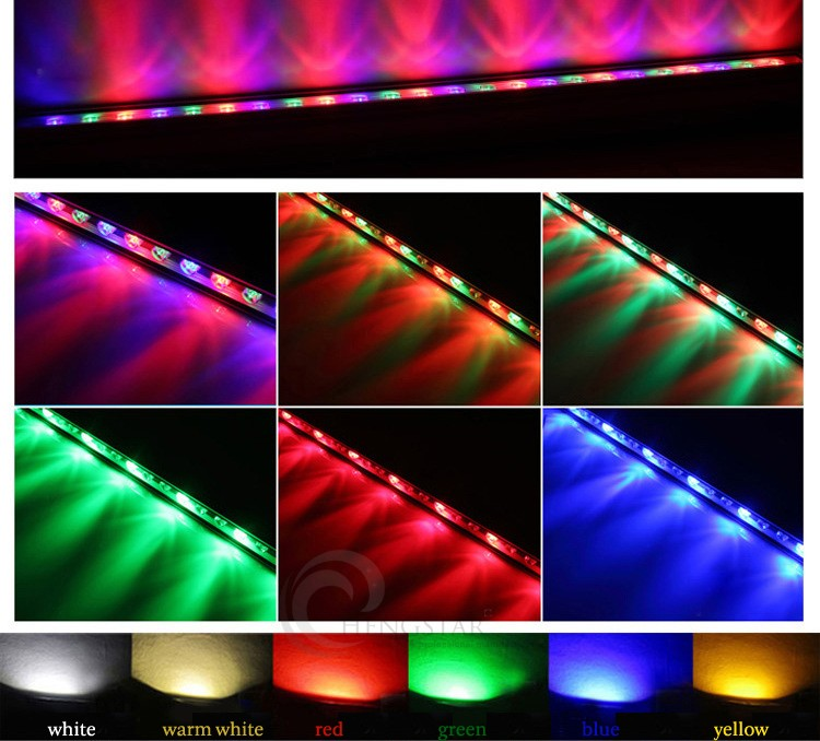 led wall wash light led pixel bar rgb led wash wall washer light