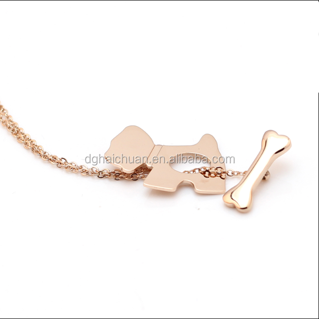 Fashion Jewelry stainless steel Pendant necklace Fashion Jewelry stainless steel Pendant necklace hammered rose gold jewelry