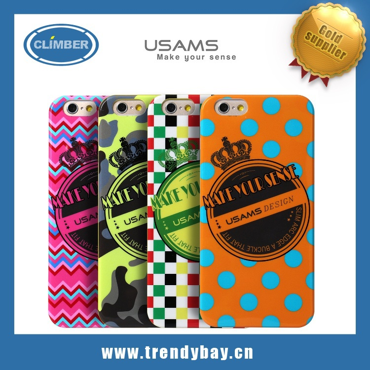 Newest Usams brand perfume protect silicone case for iphone 6 5S