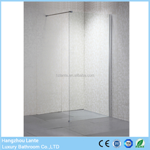 Simple Design Shower Screen Flexible with 8mm Tempered Glass