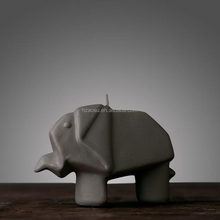 Elephant shape candle, Elephant candle