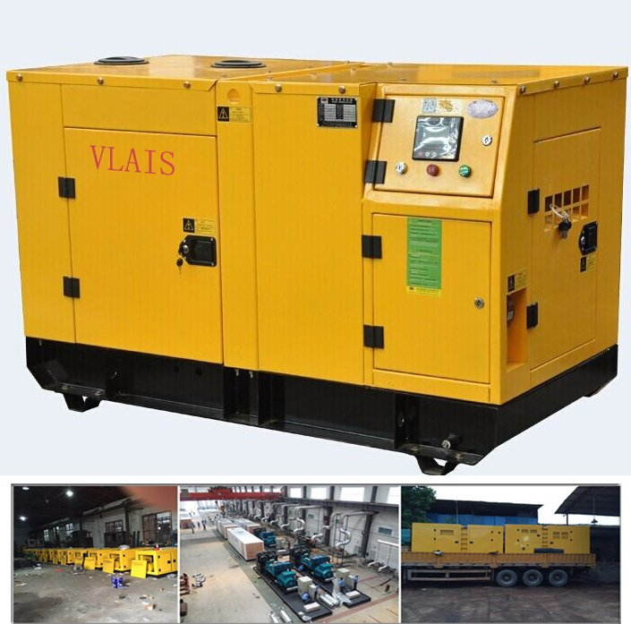 China OEM diesel generator supplier, Super silent diesel engine 25kva genset