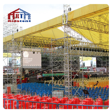 <strong>12</strong>*12m roof aluminum best selling truss , spigot sleeve block stand for canopy