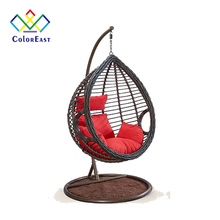 Full-bodied Mediterranean Style Hanging Rattan Chair CEHC003 for Home <strong>Furniture</strong>
