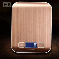 Newest Fashion design LCD display cheap price stainless steel 5kg digital food kitchen scale electronic weighing scale