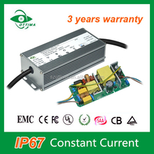 277Vac CE high quality ip67 constant current 2100ma 70w led driver power supply