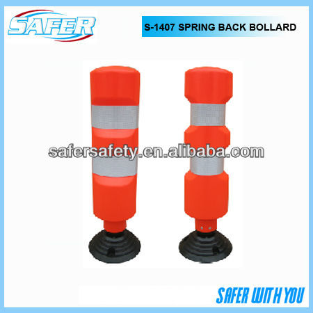 S-1407 spring back traffic road bollard