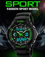 china original skmei watches dual time sport watches for men alibaba wholesale 2016