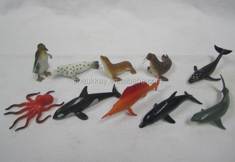 3D model Marine animals pvc toy promotional
