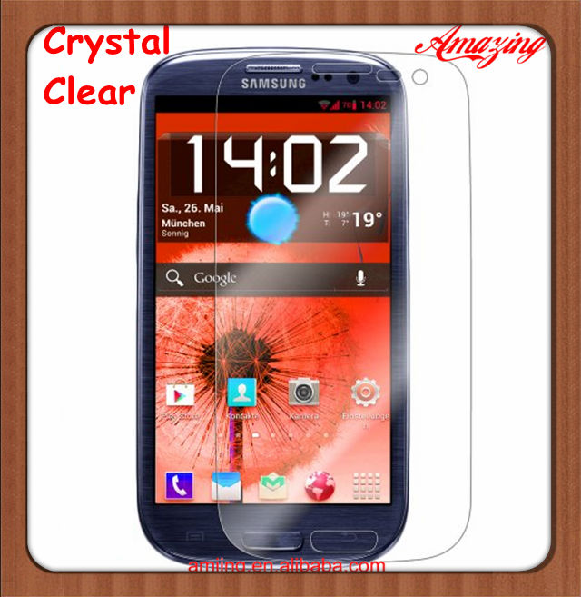 For Samsung Galaxy S3 Screen Protectors,Galaxy SIII protector Film,Clear type