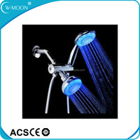 NEW ARRIVAL LED Light Changing Bathroom Dual Shower Head Set