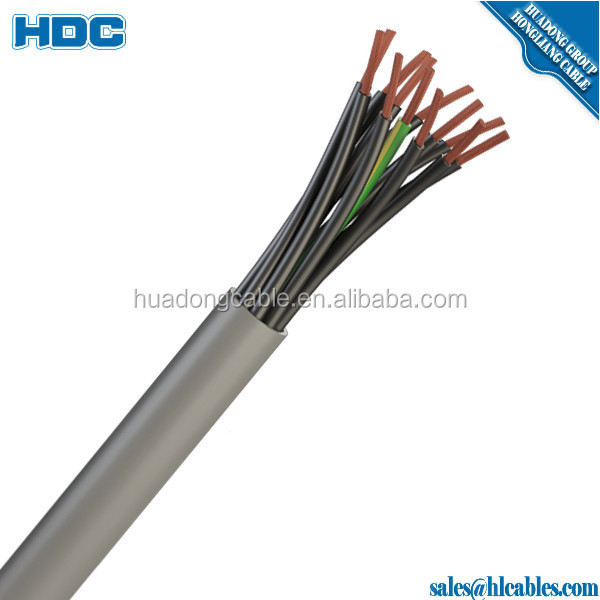 450/750v Multi conductor control cable 0.75mm 1mm 1.5mm 2.5mm Shielded Control cable