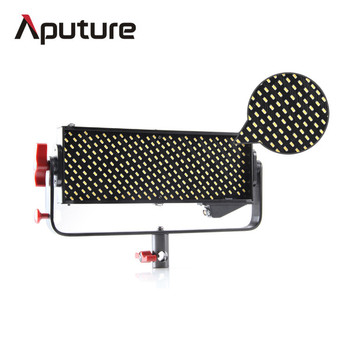 Aputure Ultra-Bright CRI98 LED Dimmable Panel Light with V-Mount and A-Mount