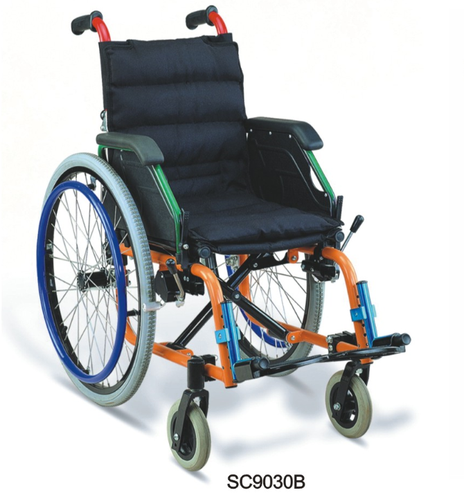 Foldable lightweight quality manual wheelchair for child
