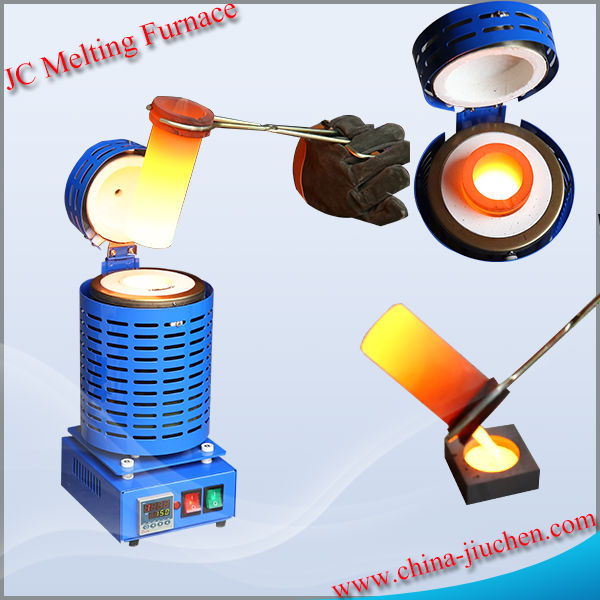 JC Electric Portable Small Glass Melting Furnace for Sale