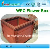 Wood Plastic Composites Flower Box OUTDOOR garden fence WPC Flower Box wpc railing/fencing