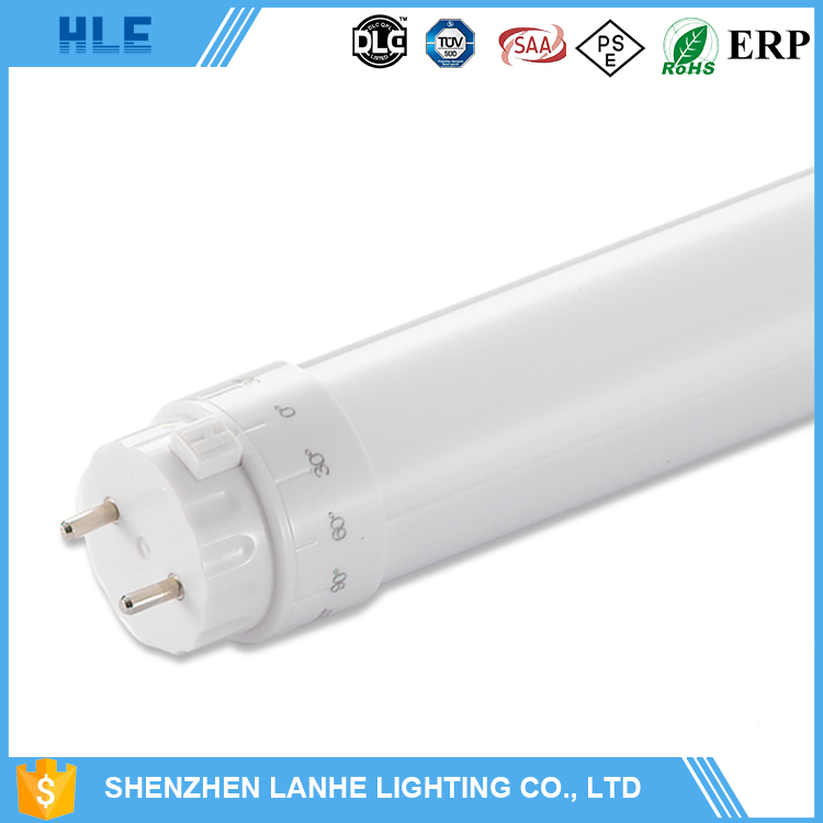 china suppliers wide beam angle high lumen 1200mm t8 g13 4ft 18w led read tube light