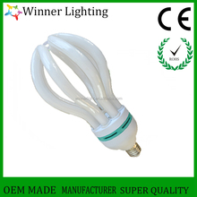 Factory wholesale lotus 4u 105w 6400k cfl energy saving lamp