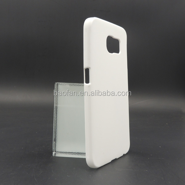 Newest 3D sublimation cell phone case for Samsung galaxy S6