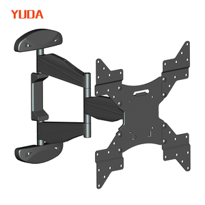 VESA 400X400 full motion bracket articulating tilt tv wall mount