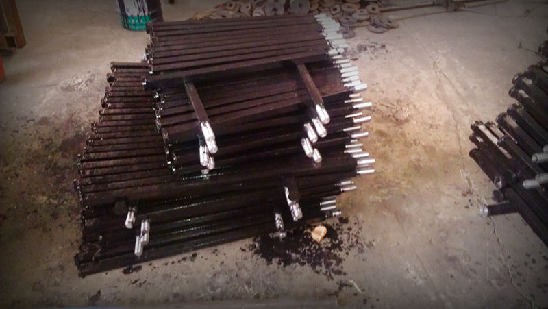 agricultural machine not pto spare part square shaft for disc harrow in 2014