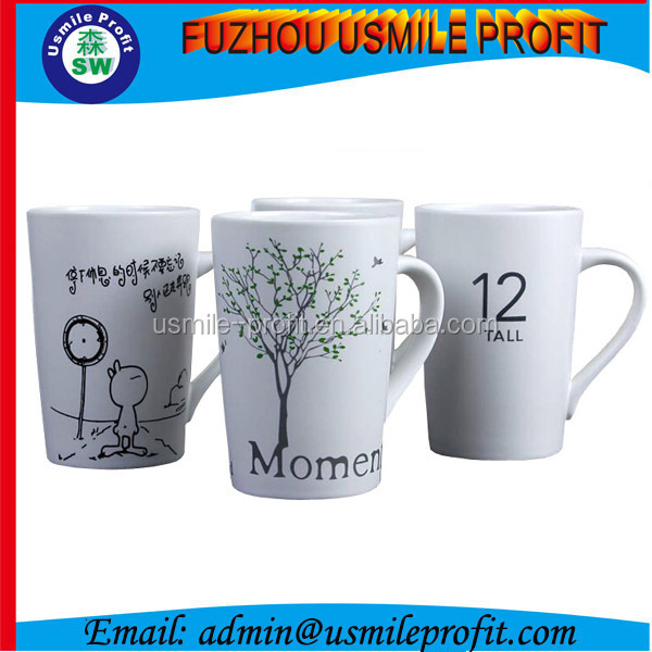 New Arrival Promotion China Bone Ceramic Mug
