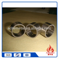 Cheap promotion item thin metal tube,tungsten tube