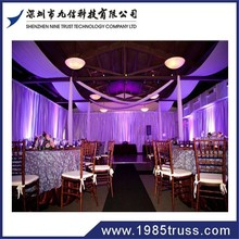 Nine Trust wedding wall coverings ,wall drape pipe and drape for wedding backdrop with good quality and competitive price