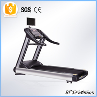BCT 01 Precor gym equipment commercial treadmill machine,power fit treadmill,commercial treadmill machine with TV console