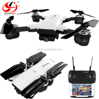 Newest folding support 2.4G WIFI FPV Remote control Foldable quadcopter drone with hd camera wide angle