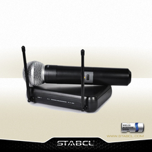 VHF Cheap Price Smallest Wireless Karaoke Teaching Microphone ST-9170