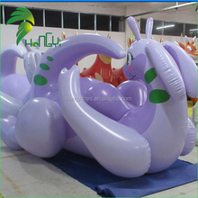 2015 Hongyi Innovation Design Inflatable Purple Dragon / Inflatabel Laying Dragon Toy