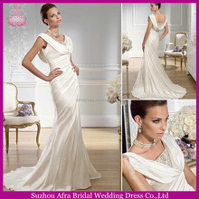 SD1350 elegant mermaid wedding dress mother of the bride beach wedding dress