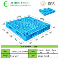 No.223 HDPE recycled cheap tobacco plastic pallet